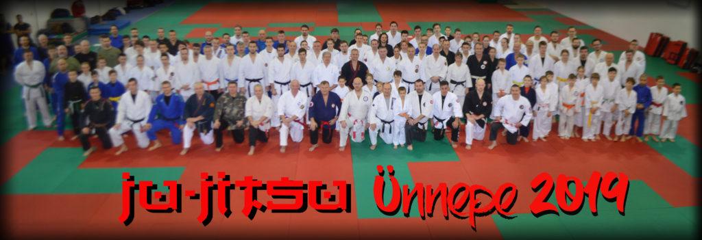 csoportkép Ju-jitsu ünnep, 2019
